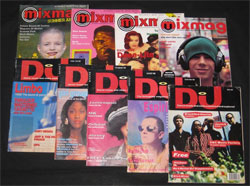 DJ Magazines from the past
